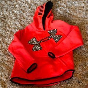 Girls neon u set armour hoodie